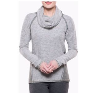Kuhl | Sage Green Nova Cowl Pullover Sweater | M